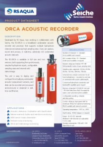 orca-datasheet